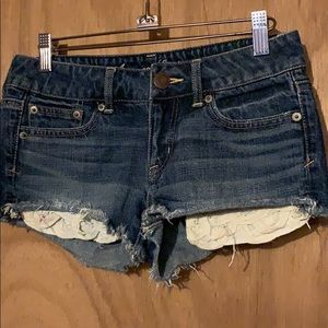 American Eagle Outfitters Cute Blue Jean Shorts